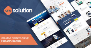 onesolution-profesyonel-wordpress-temasi